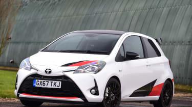 Toyota Yaris GRMN - front static