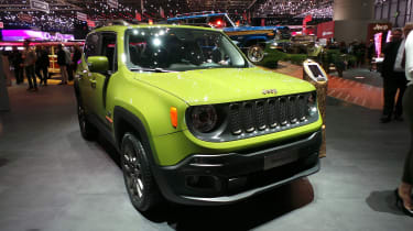 Jeep 75th Anniversary Geneva - Renegade front three quarter