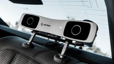Audi Virtual Training Car rear seat camera