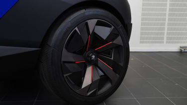 VW Polo BlueMotion - rear cornering