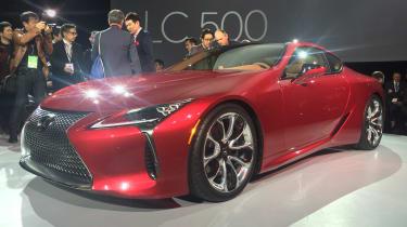 Lexus LC500 front3/4
