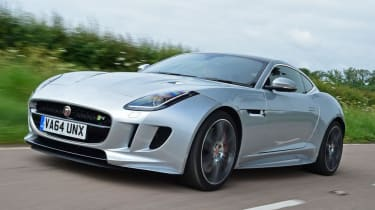 Used Jaguar F-Type - front action