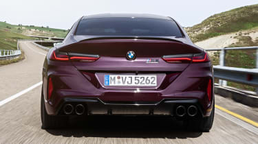 BMW M8 Gran Coupe - full rear