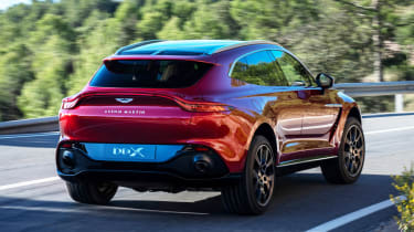 Aston Martin DBX - rear