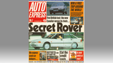 Auto Express Issue 1