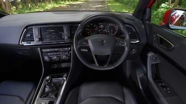 SEAT Leon - rear tracking