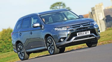 Mitsubishi Outlander PHEV - best low emissions green cars