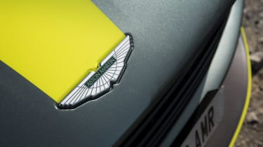 Aston Martin DB11 AMR - front badge