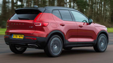 Volvo XC40 rear tracking