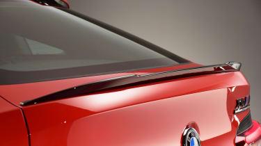 BMW X4M - rear profile