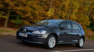 Volkswagen Golf hatchback 2013 front tracking