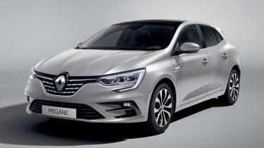 Renault Megane - front grey