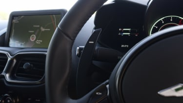 Aston Martin Vantage dash