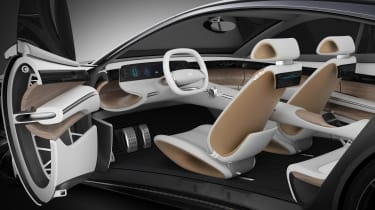 Hyundai Le Fil Rouge concept - interior
