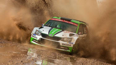 Skoda WRC2 - dirt