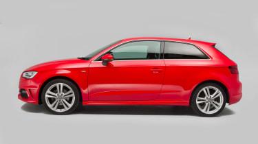 Used Audi A3 mk3 2012 - side