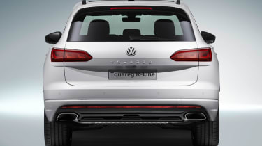 Volkswagen Touareg - full rear