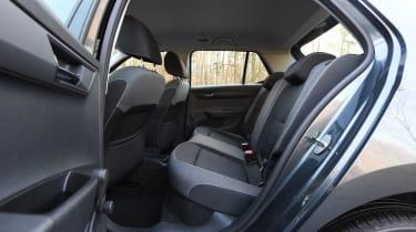 Skoda Fabia - rear seats