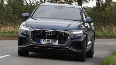 Audi Q8 - Front Cornering