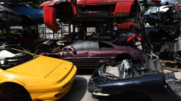 Scrap Ferrari