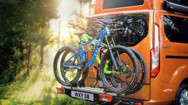 Ford Transit Custom Nugget - bike rack