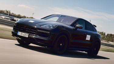 Porsche Cayenne Coupe prototype - front action
