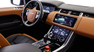 Range Rover Sport PHEV - dash