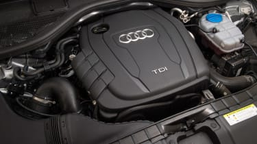 Used Audi A6 - engine