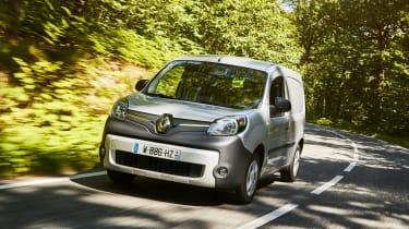 Renault Kangoo Z.E. - front action