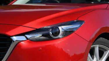 Mazda 3 Fastback - headlight