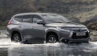Shogun Sport fording a river