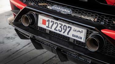 Lamborghini Huracan Evo - rear detail