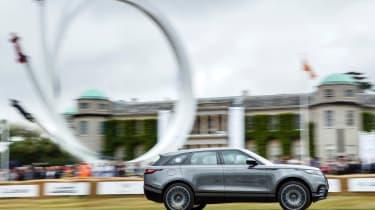 Range Rover Velar ride Goodwood side