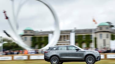 Range Rover Velar ride Goodwood side