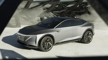 Nissan IM concept - front action