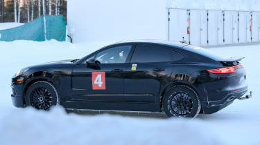 Porsche Cayenne Coupe side