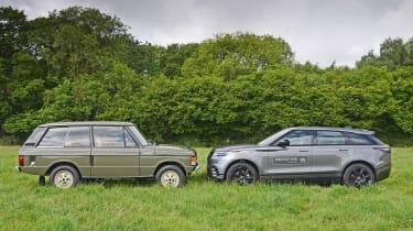 Range Rover Velar vs Range Rover Velar - side-by-side