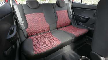 Used Kia Picanto - rear seats