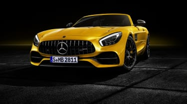Mercedes-AMG GT S Roadster front