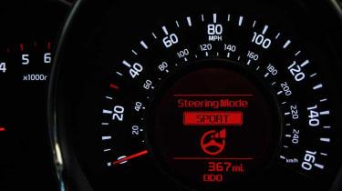 Kia Cee'd Sportwagon dials