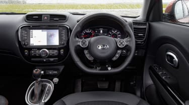 Kia Soul Sport - cockpit