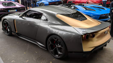 Italdesign Nissan GT-R50 rear