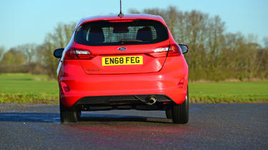Ford Fiesta Sport Van rear cornering