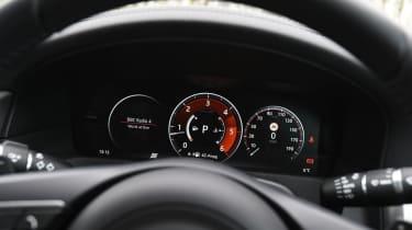 Jaguar XF 2017 - instruments