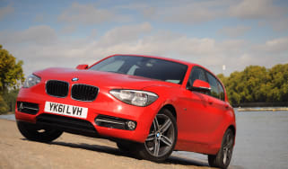 BMW 116i Sport front three-quarters