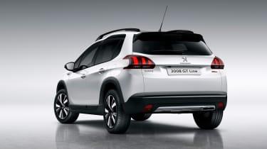 Peugeot 2008 2016 - white rear quarter