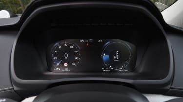 Volvo XC90 T8 - dials