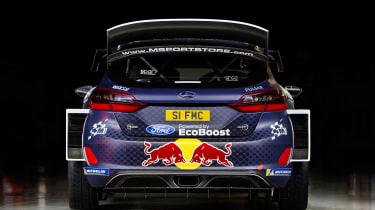Ford Fiesta M-Sport WRC - full rear