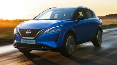 Nissan Qashqai - front action