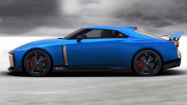 Nissan GT-R50 by Italdesign - side